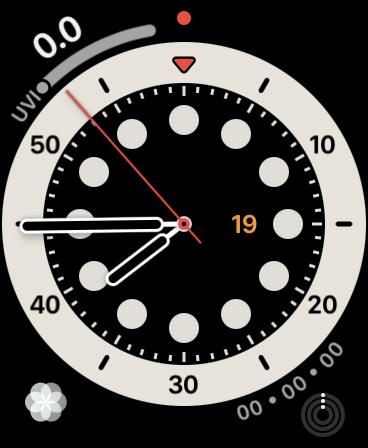 Доступ к циферблату Apple Watch