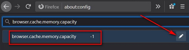 Firefox о: настройки конфигурации