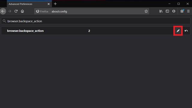 изменить настройки firefox browser.backspace_action