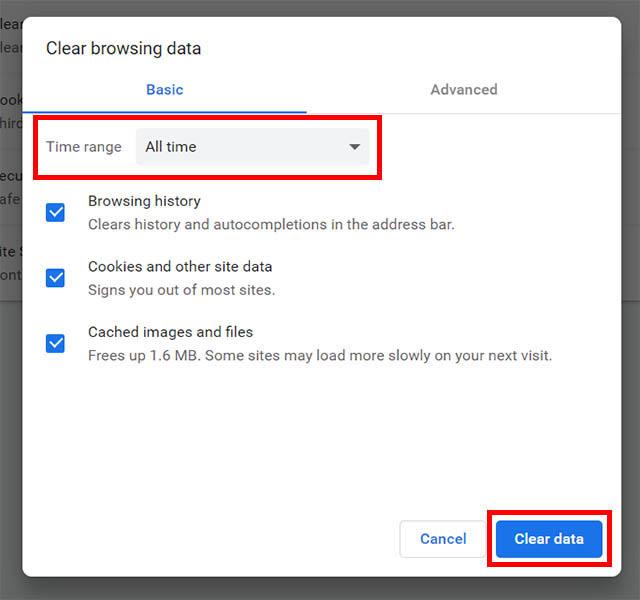 Комментарии YouTube не загружают четкие данные Chrome