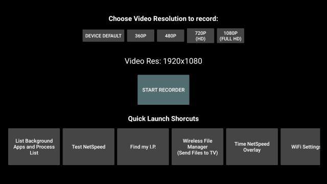 Запишите экран на Fire TV Stick (2021 г.)