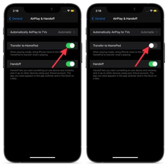 Desactivar alertas de proximidad en iPhone