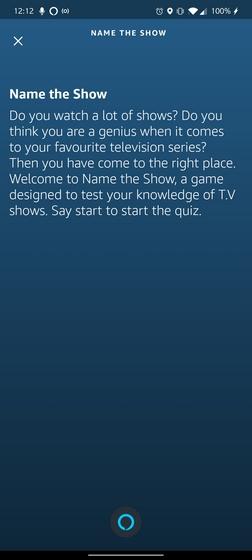 назовите шоу Alexa Game