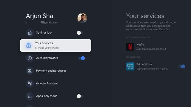 Настройте главный экран Google TV (2021 г.)
