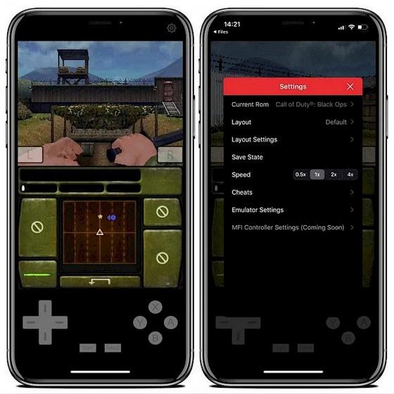 iNDS: лучший эмулятор Nintendo DS для iOS