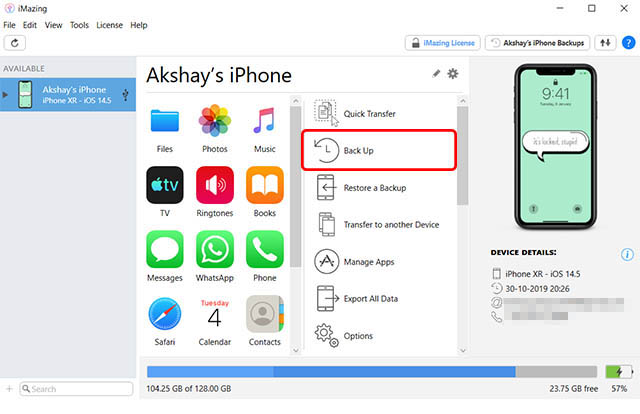 удивительный iphone резервное копирование windows pc новый