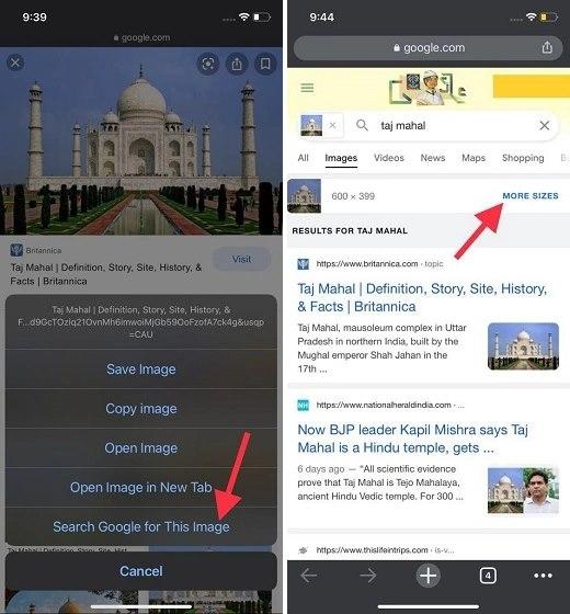 Acceso-a-información-de-una-imagen-búsqueda-inversa: búsqueda inversa de imágenes en iPhone