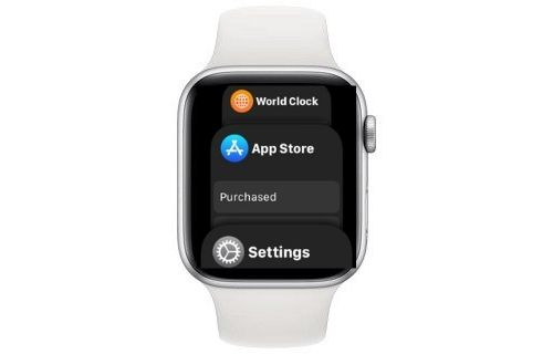 Forzar el cierre de aplicaciones en Apple Watch