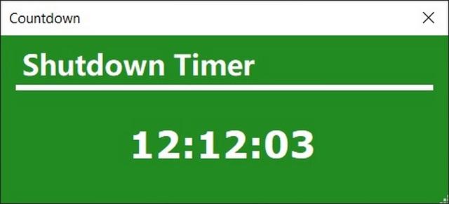 Shutdown Timer Classic: apaga automáticamente las ventanas