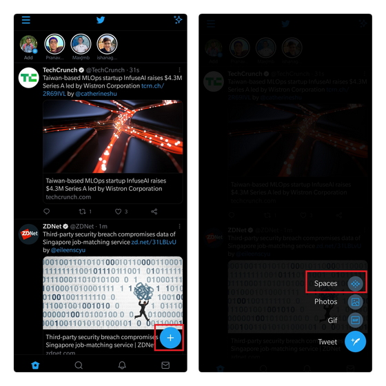 crear espacio de twitter 1