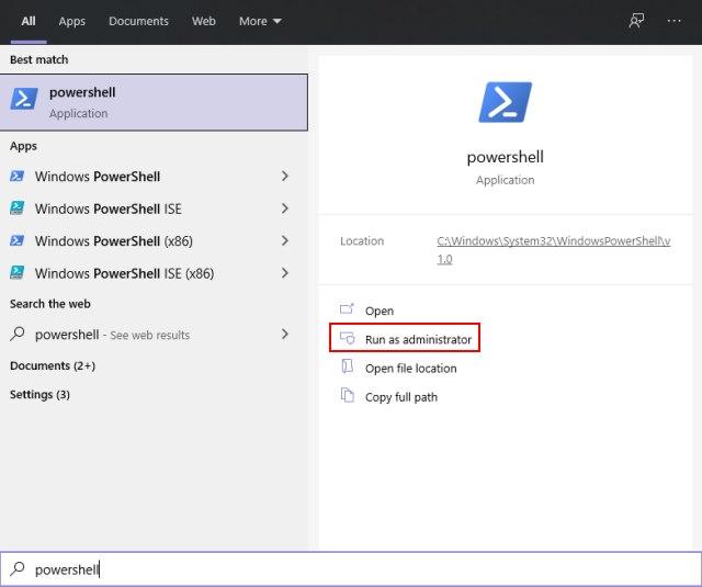 создать точку восстановления системы Windows 10 - метод PowerShell