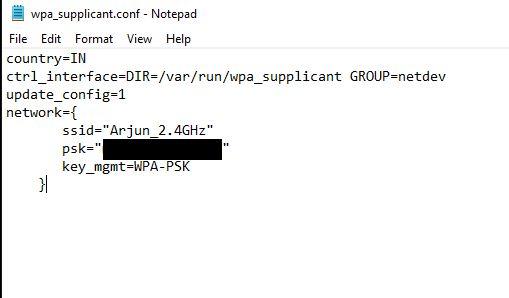 Genere una dirección IP para la Raspberry Pi sin cabeza
