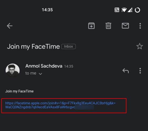 cómo usar facetime en android 1
