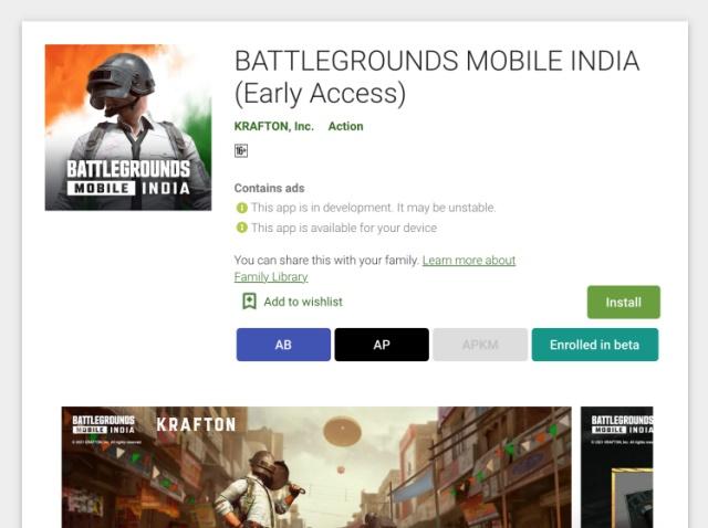 युद्ध के मैदान स्थापित करें मोबाइल इंडिया 2