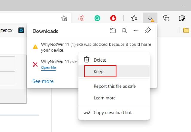 instalar la aplicación whynotwin11