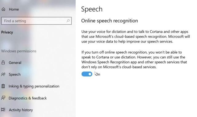 Escritura por voz en Windows 10