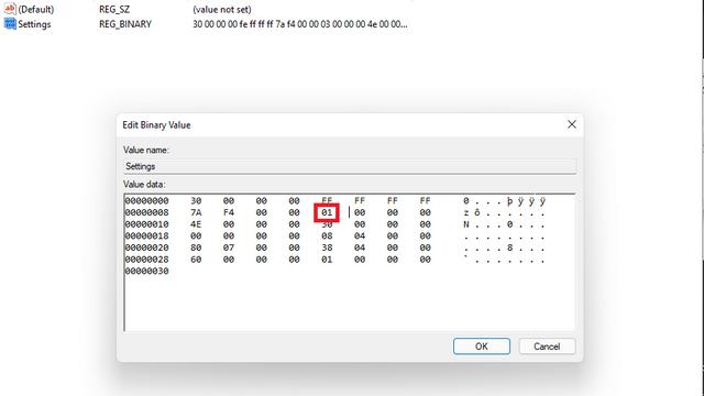 mover la barra de tareas a la parte superior de Windows 11