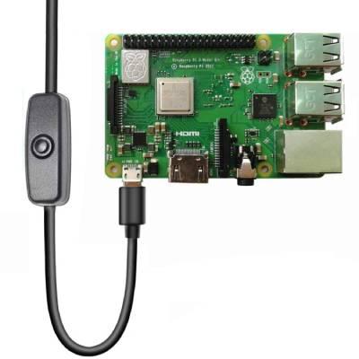 interruptor de encendido Raspberry Pi 4