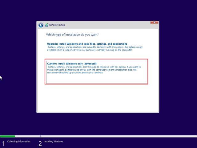 Instale Windows 11 nuevo desde un USB de arranque