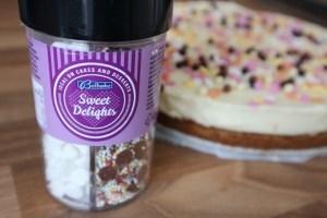 witte chocolade cheesecake