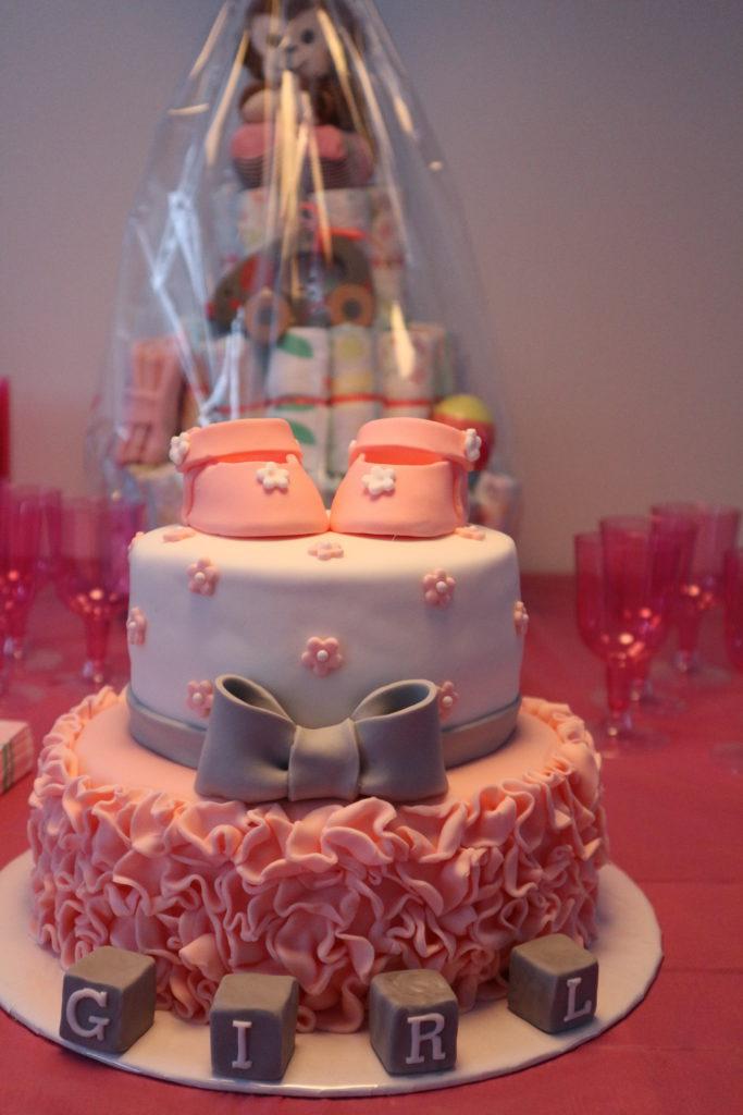 Babyshower taarten