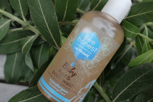 Bee Honest Cosmetics Hair & Bodywash baby hypoallergeen
