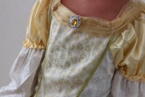 Details Belle Prinsessenjurk
