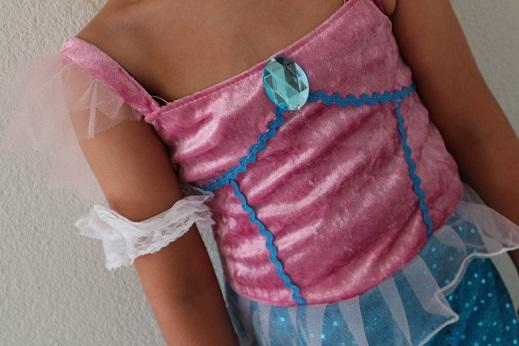 Details Zeemeerminnenjurk verkleedkleding meiden