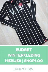 Shoplog budget winterkleding 2018 - 2019 meisjes Wibra en Kiabi