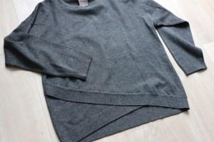 Shoplog herfstcollectie meisjes 2018 antraciet trui sweater Zara