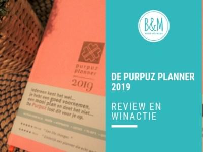 De Purpuz Planner | Review en Winactie – GESLOTEN