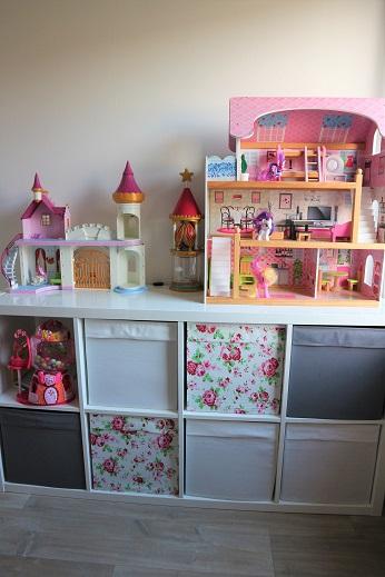 Vakkenkast Ikea organiseren speelkamer speelgoed