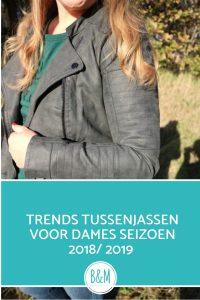 trends tussenjassen dames 2018-2019 shoplog sale sans-online