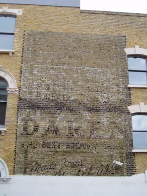 Daren bread ghost sign Daneville Road Camberwell SE5