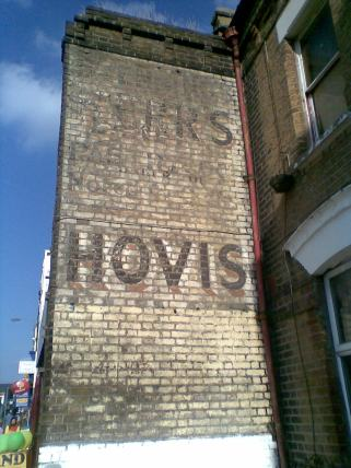 Hovis ghost sign