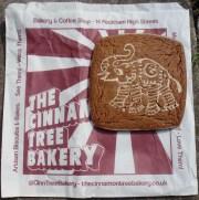 Cinnamon biscuit from the cinnamon Tree Bakery