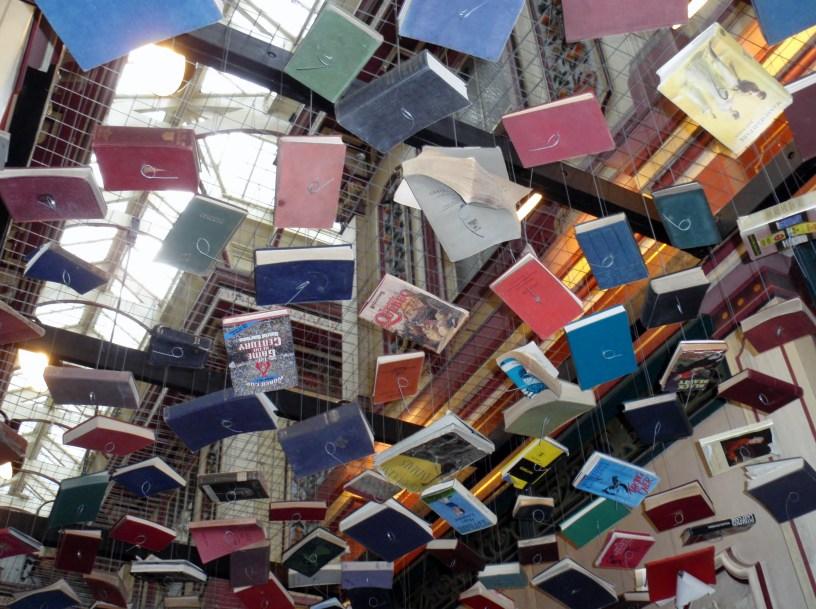 Leadenhall Market False Ceiling by Richard Wentworth