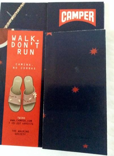 Camper shoes advert 2002