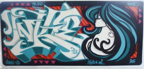 Mr Cenz Urban Art 2015