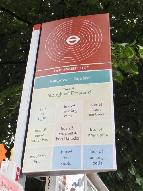 Martin Grover Bus Stop
