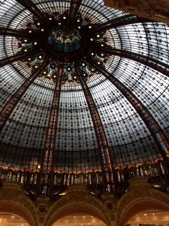 Galleries Lafayette dome