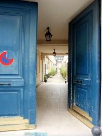 Hidden Paris - Looking through a doorway