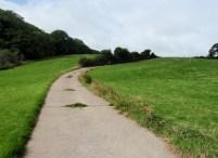 The road to Totleigh Barton