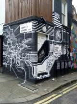 Autone street art Camden