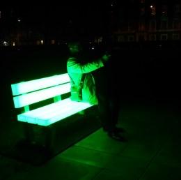 Lightbenches by Bernd Spiecker for LBO LichtBankObjekte