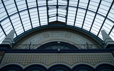 Alexandra Palace - detail in the roof