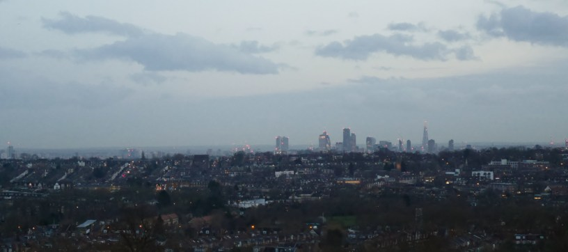 View from Alexandra Palace