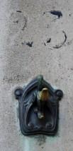 The Horta Museum exterior detail door
