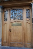 The Horta Museum front door