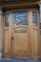 The Horta Museum front door